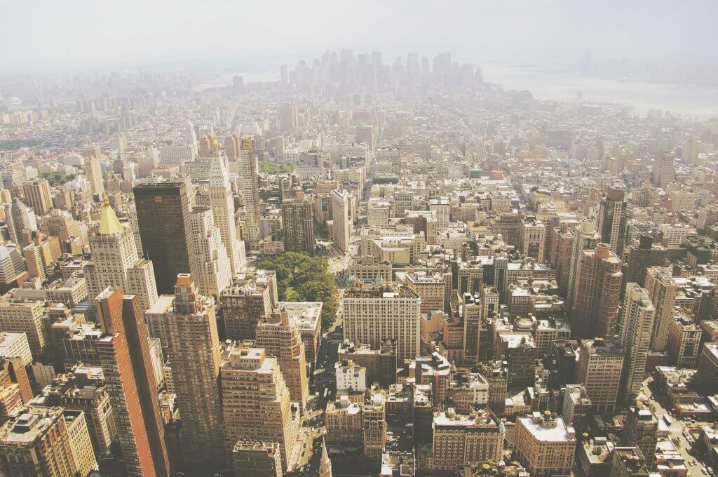 NYC Skyline in 2009