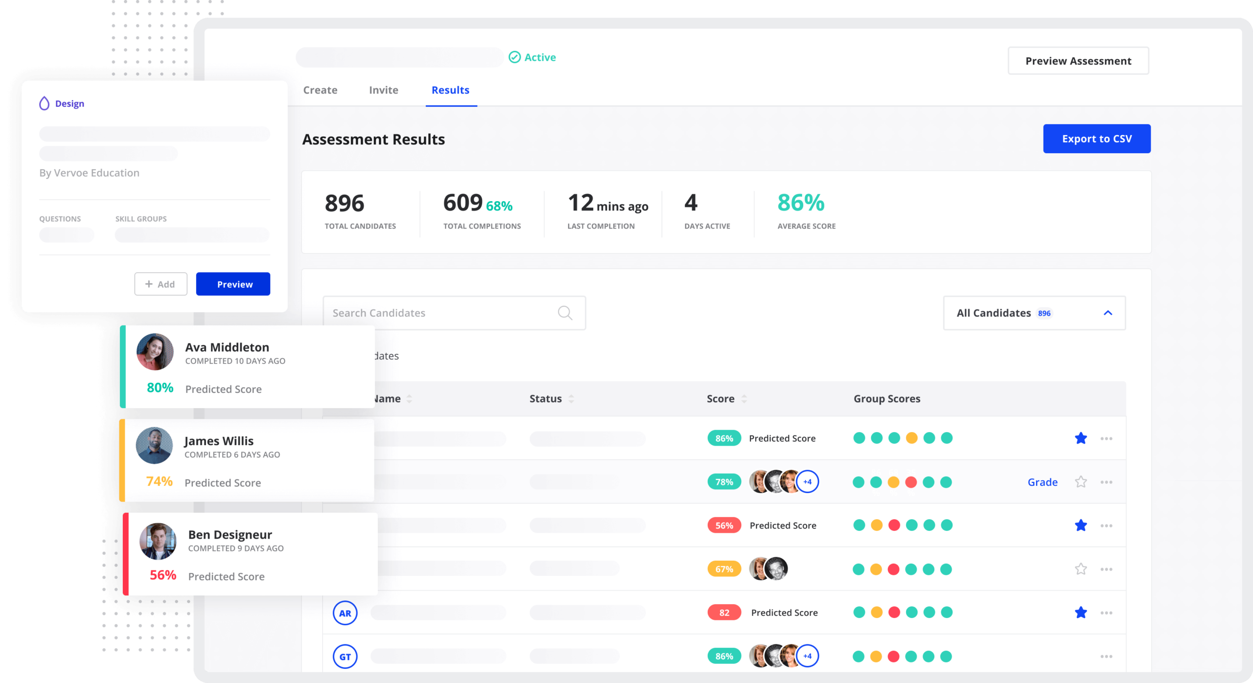 Vervoe makes it easy to screen job applicants based on their skills, not what's on their resume.