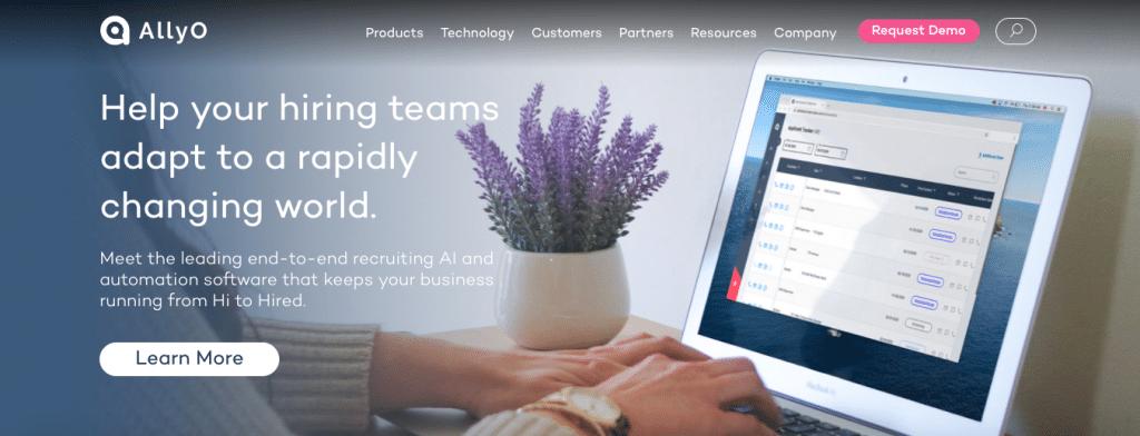 Allyo remote recruiting software