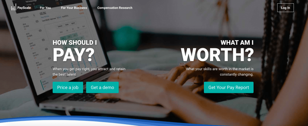 Payscale remote recruiting software