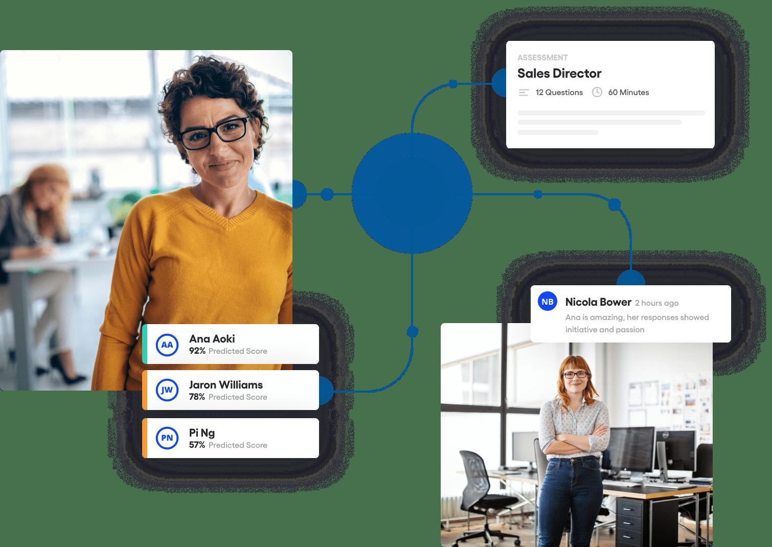 Vervoe's enterprise recruitment software