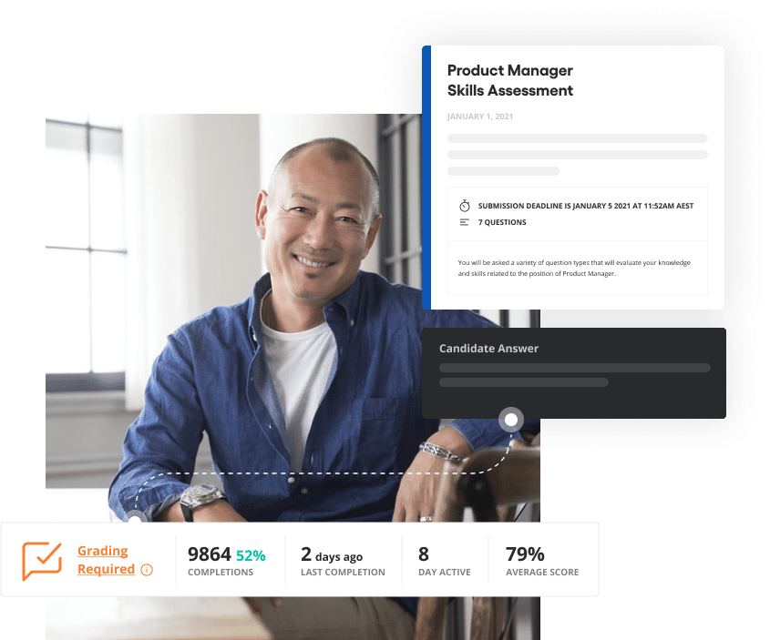 Vervoe's enterprise pre-employment assessment software