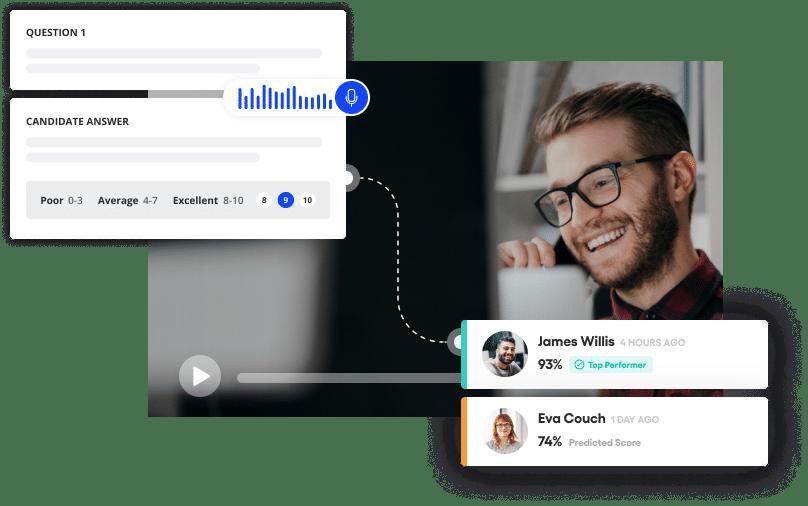 Vervoe's customer service recruitment software