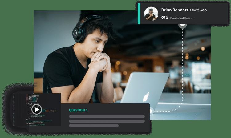 Vervoe's developer assessment platform