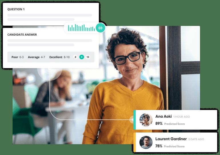 Vervoe's office recruitment software
