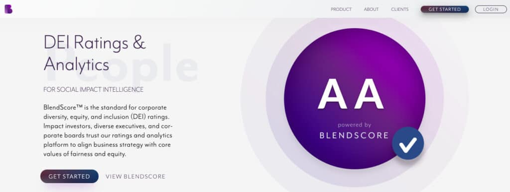 Blendoor's blind hiring software