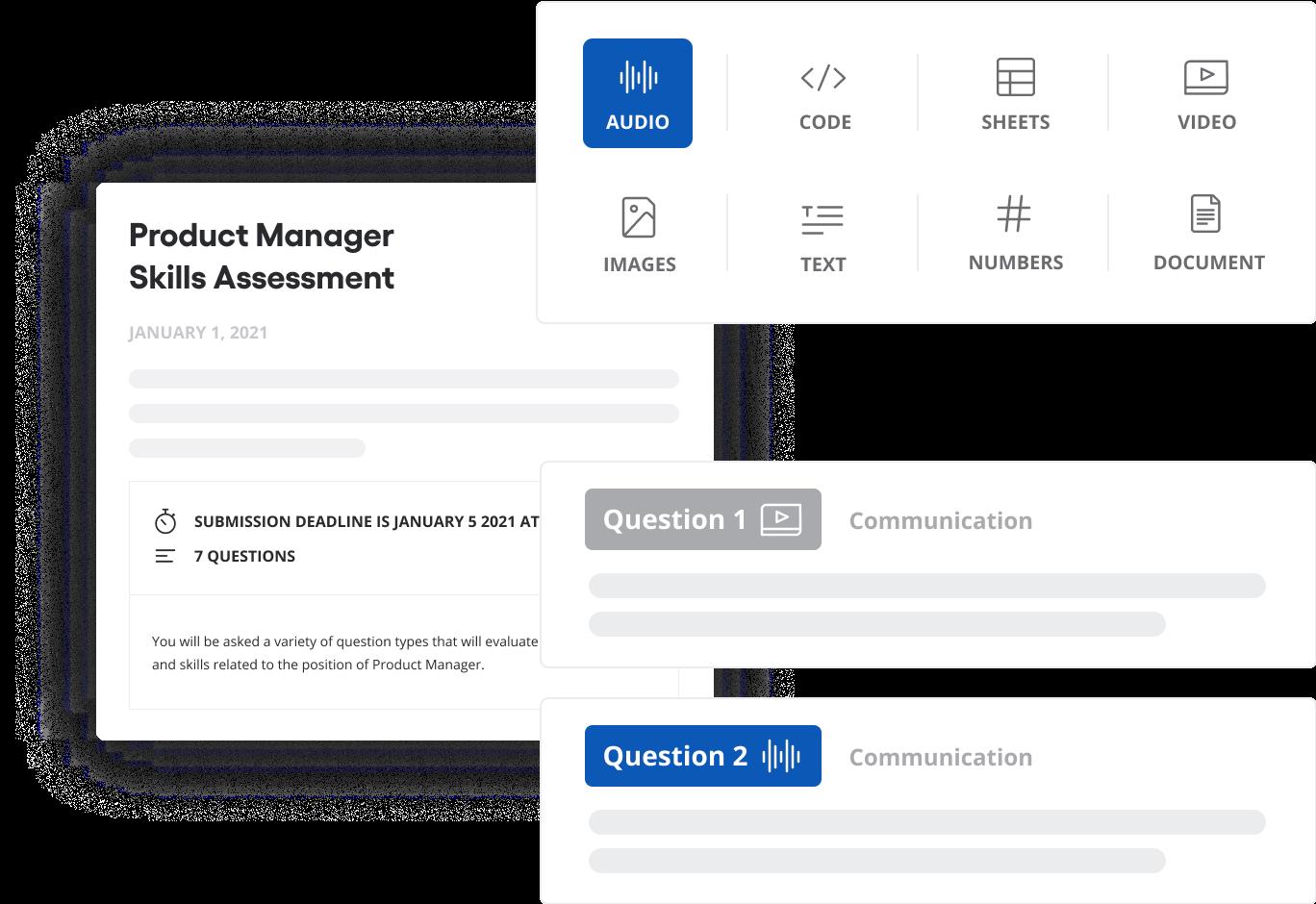 Vervoe assessment creation feature