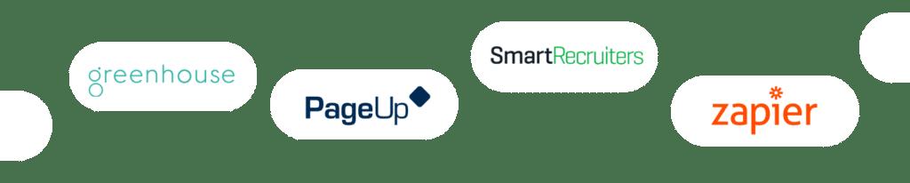 Vervoe integrations logos