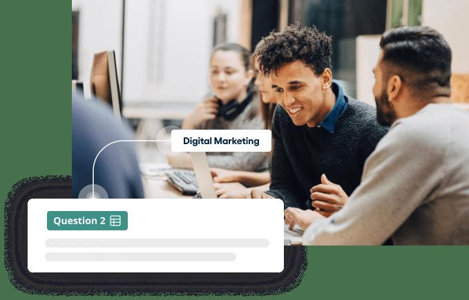 Vervoe's marketing assessment software