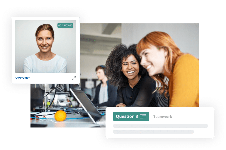 Vervoe's recruitment software for small business