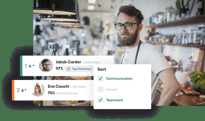 Vervoe's small business recruitment software