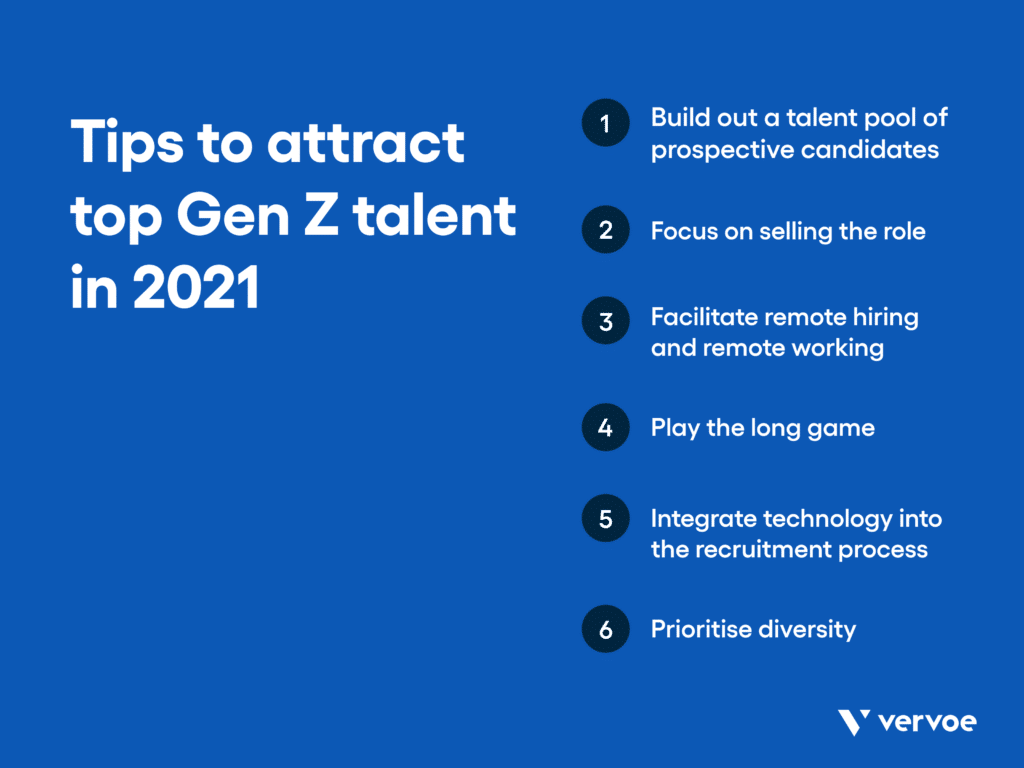 Tips to attract top gen z talent in 2021