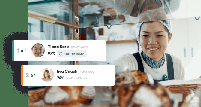 Food retail recruitment software