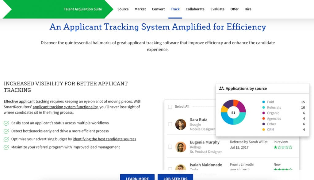Applicant tracking systems smartrecruiters