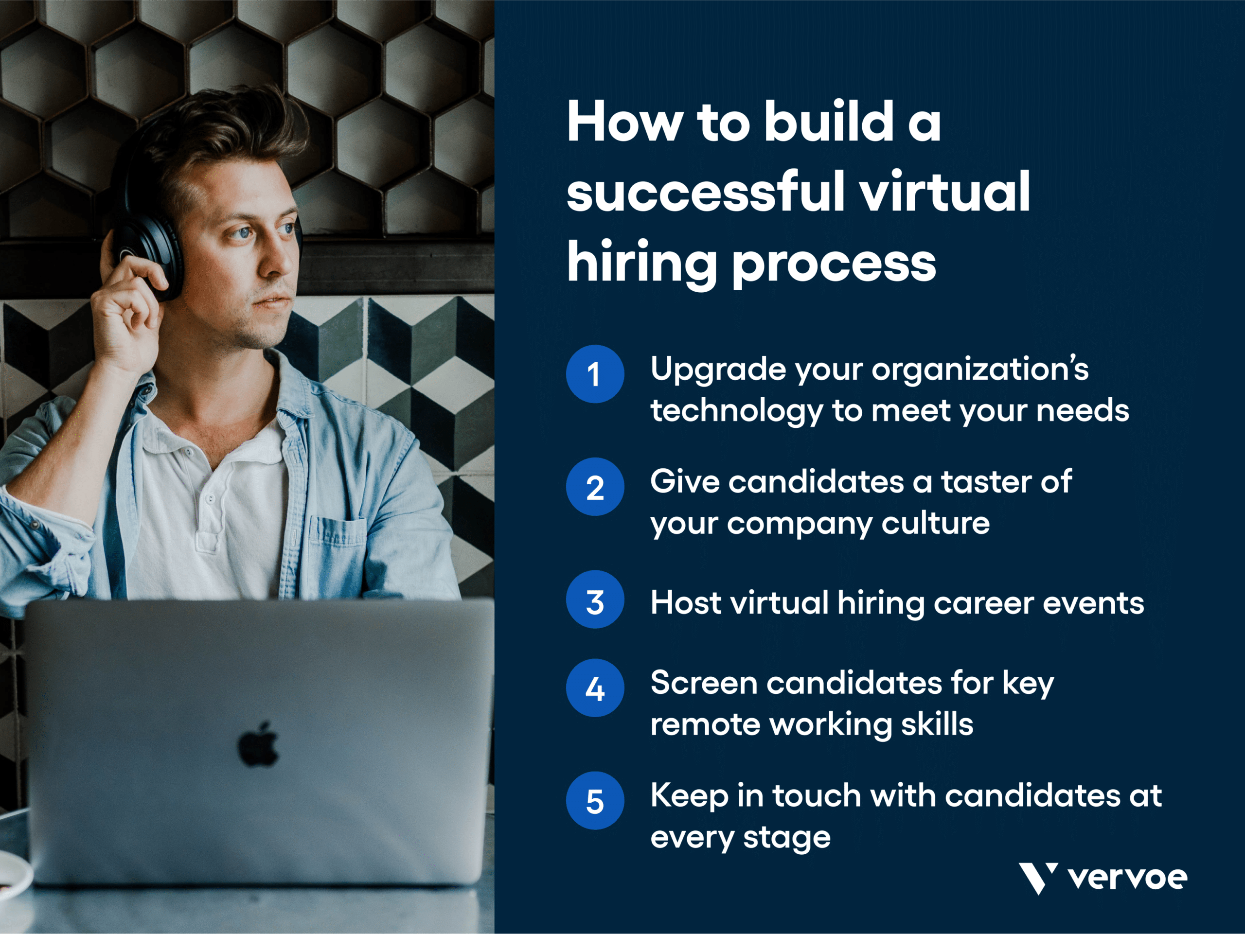 Five steps to building a successful virtual hiring process