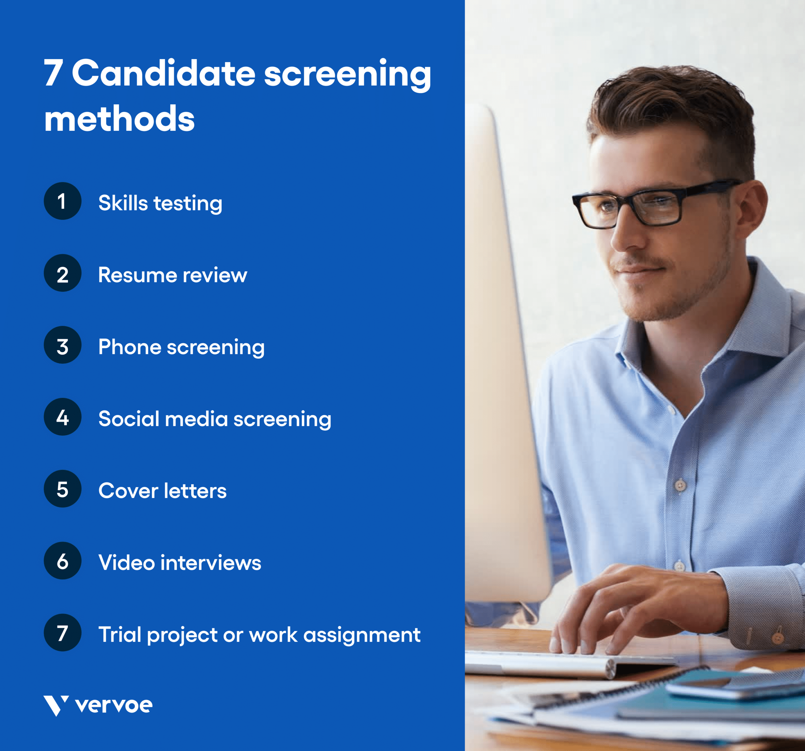 7 candidate screening methods