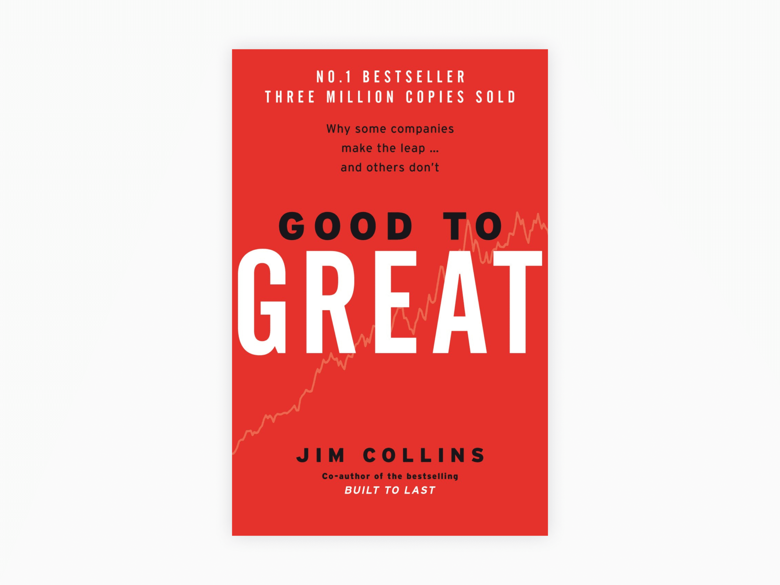 Book cover of good to great: why some companies make the leap and others don't by jim collins