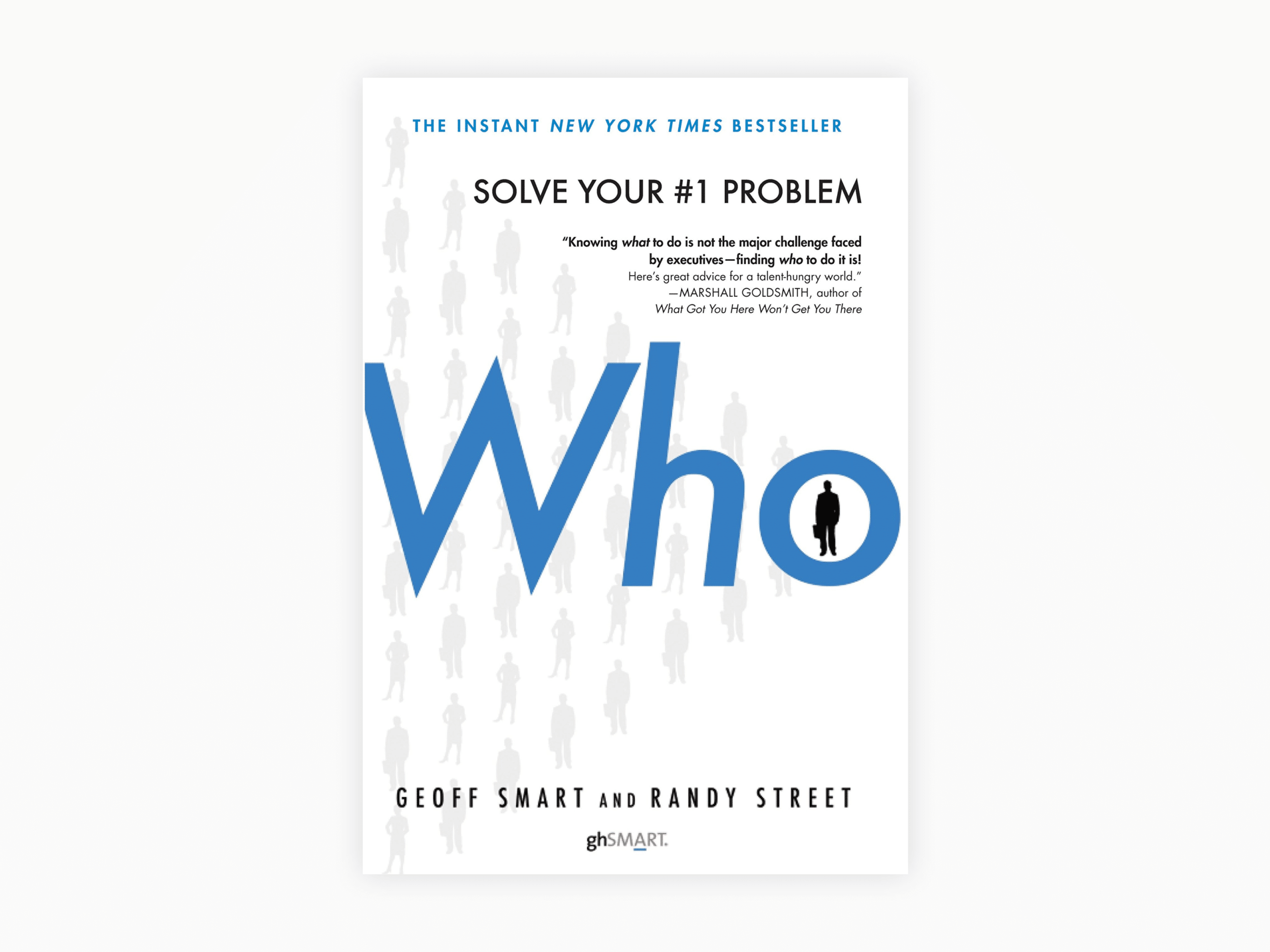 Book cover of who by geoff smart and randy street