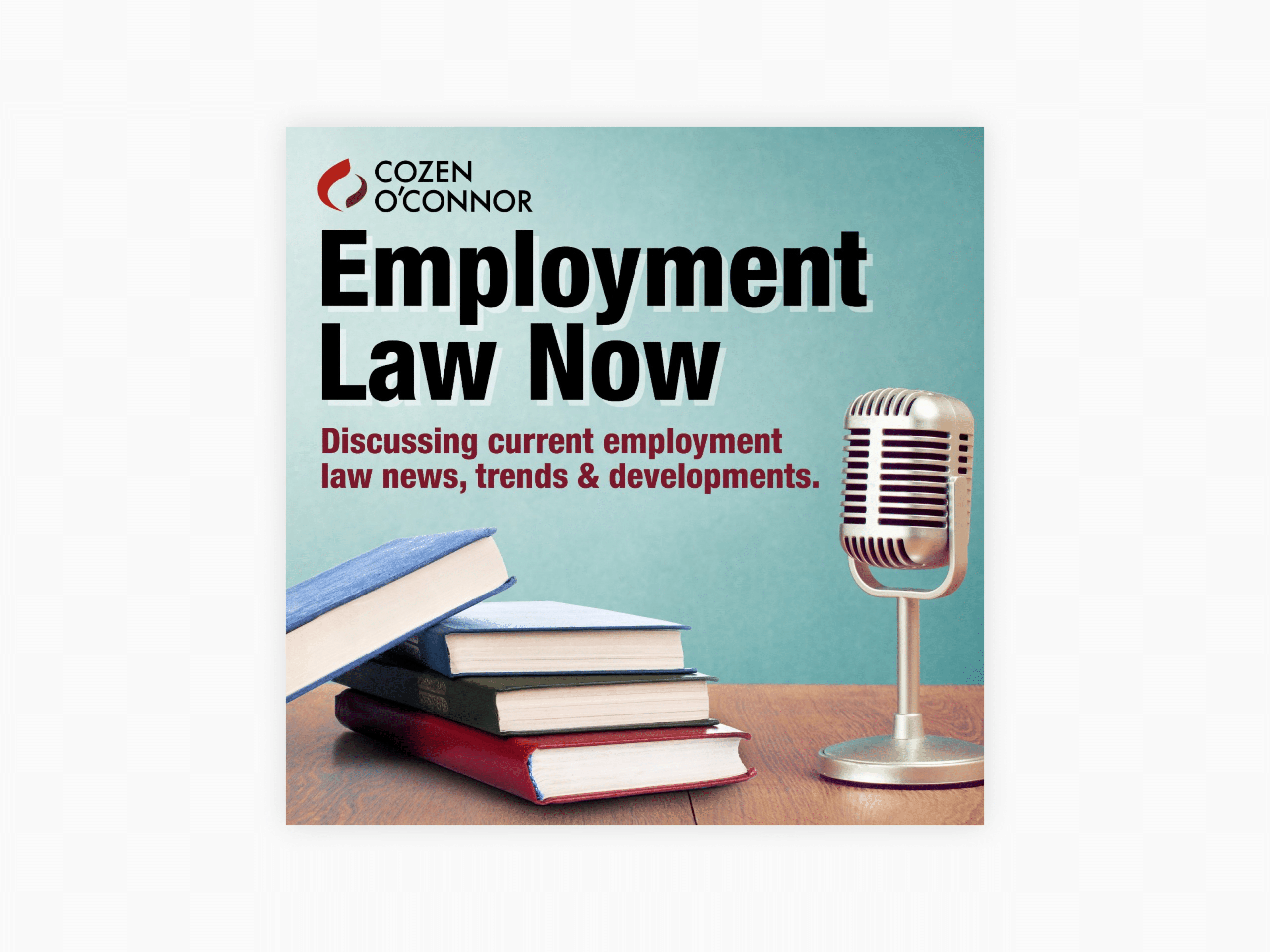 Cover art for employment law now