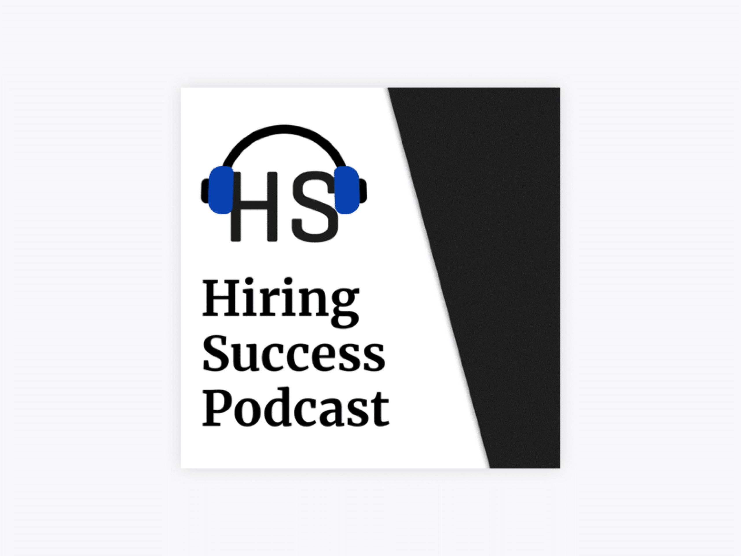 Cover art for hiring success podcast