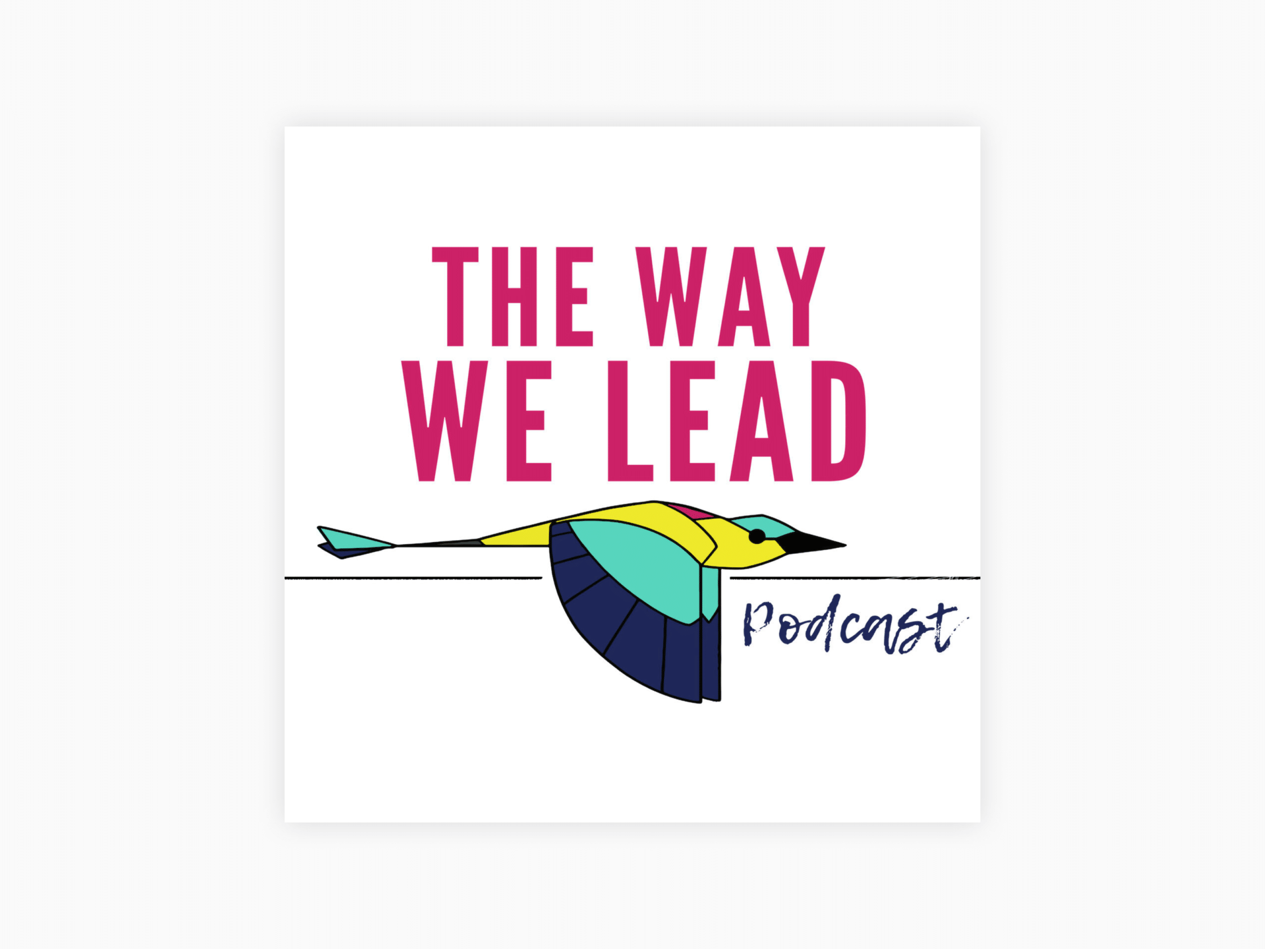 Cover art for the way we lead
